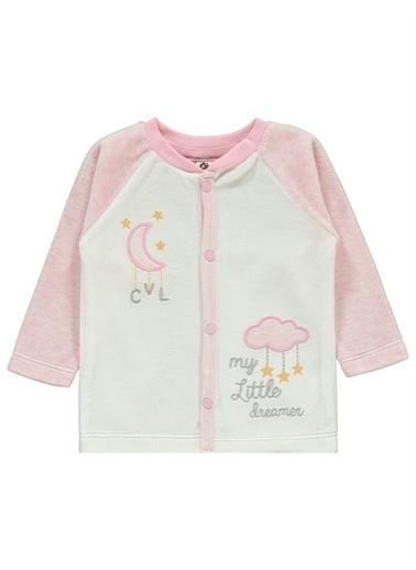 Kujju Civil Baby Bebek Pijama Takımı 3-6 Ay Pembe Civil Baby Bebek Pijama Takımı 3-6 Ay Pembe Pembe